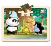 Bino Puzzle Krtek a Panda s želvou