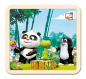 Bino Puzzle Krtek a Panda v lese