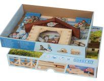 Dřevěné hračky Dřevěná stavebnice Walachia Betlém