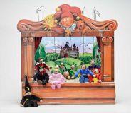 Dřevěné hračky - Gerlichovo loutkové divadlo