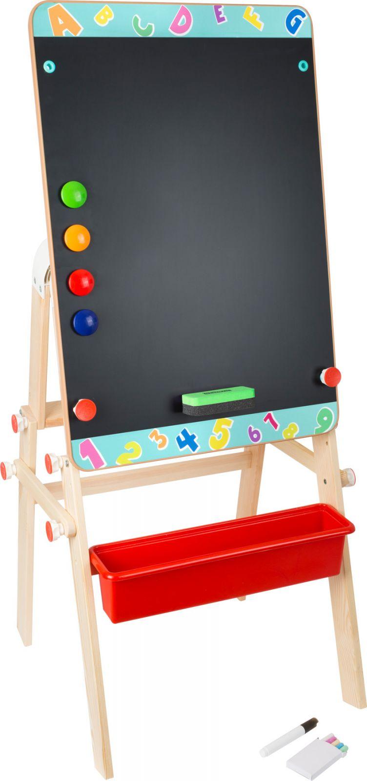 Dřevěné hračky Small Foot Dřevěná tabule 2v1 Small foot by Legler