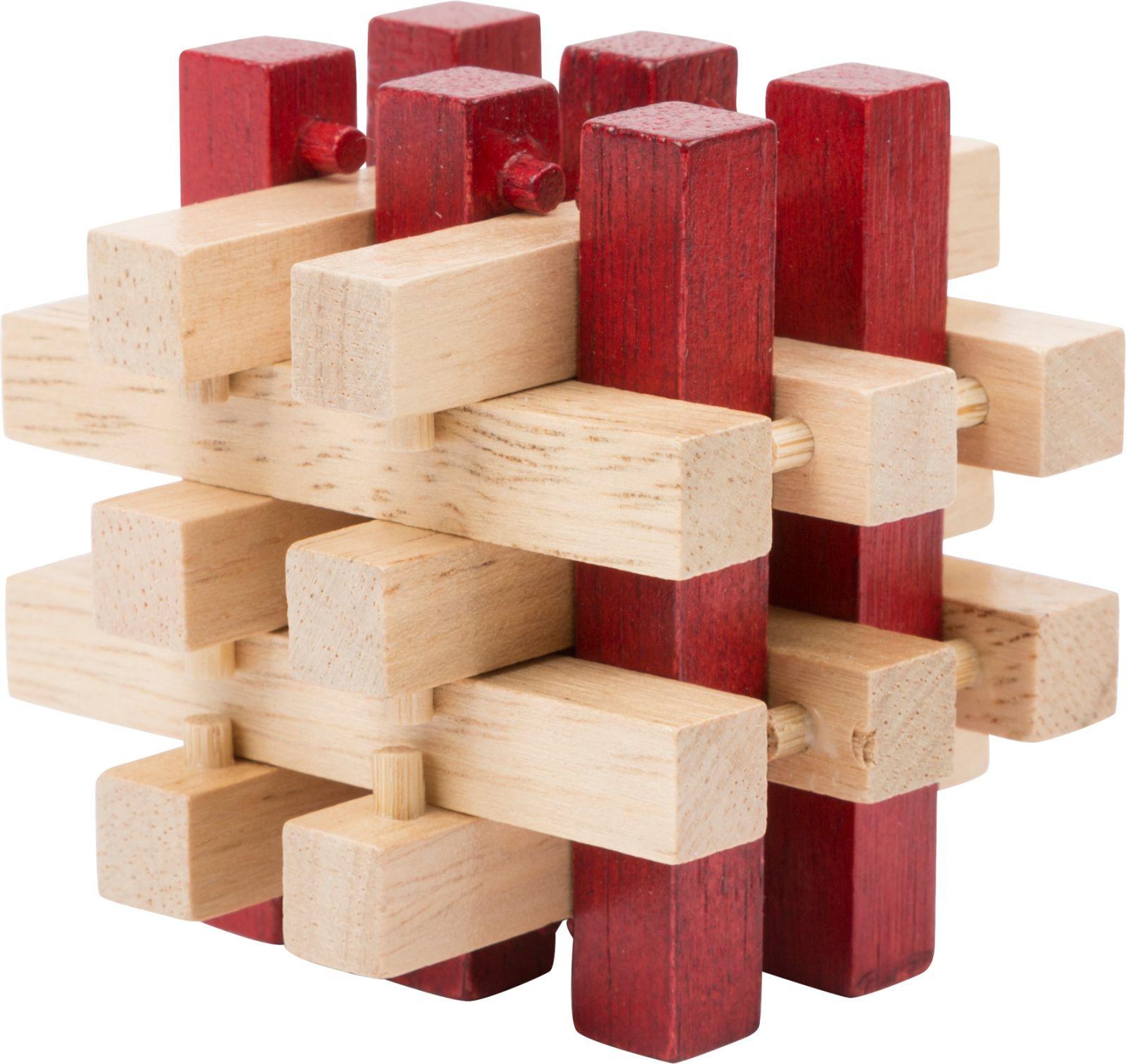Dřevěné hračky Small Foot Dřevěný hlavolam 1ks číslo 3 Small foot by Legler