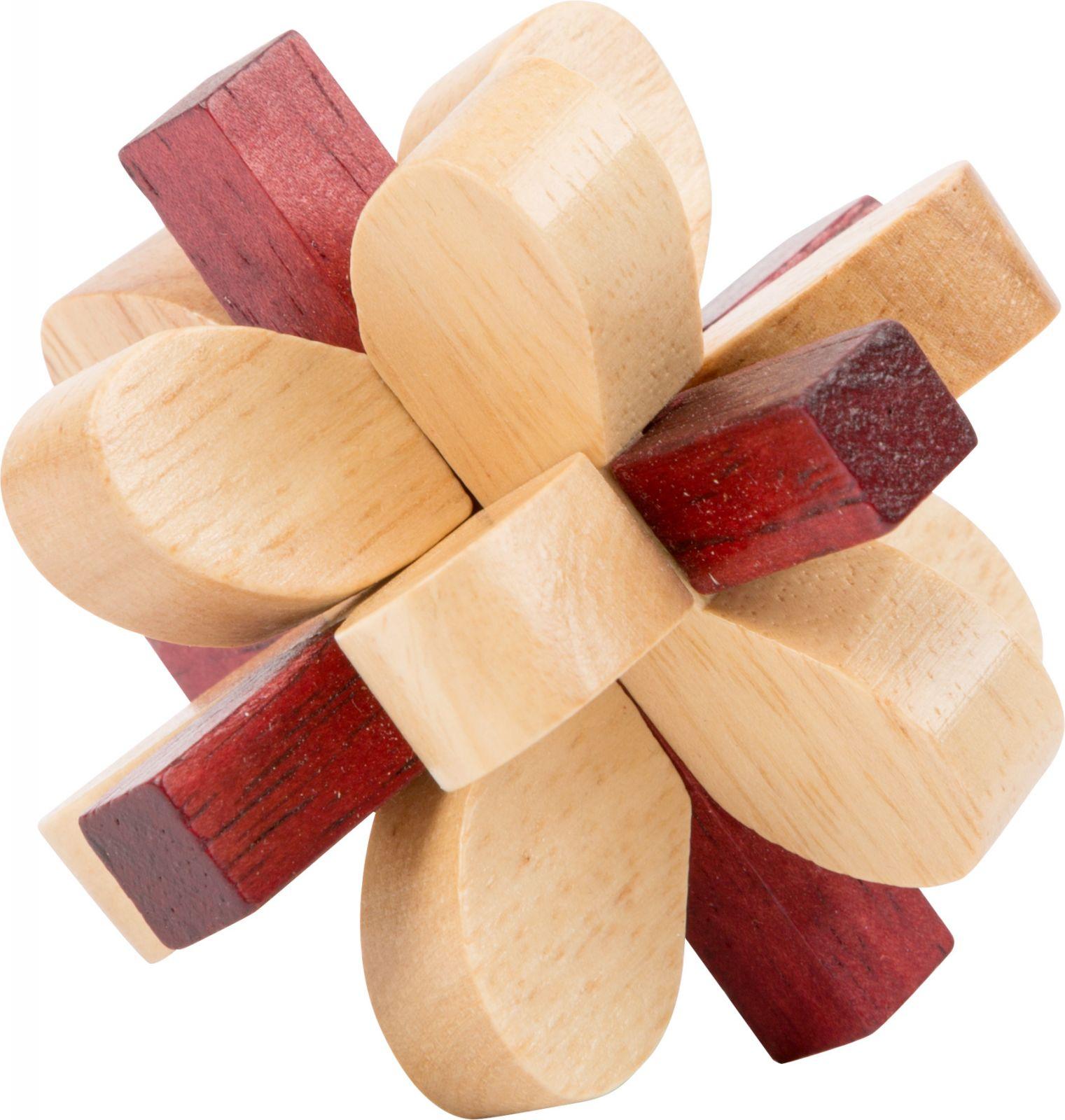 Dřevěné hračky Small Foot Dřevěný hlavolam 1ks číslo 4 Small foot by Legler