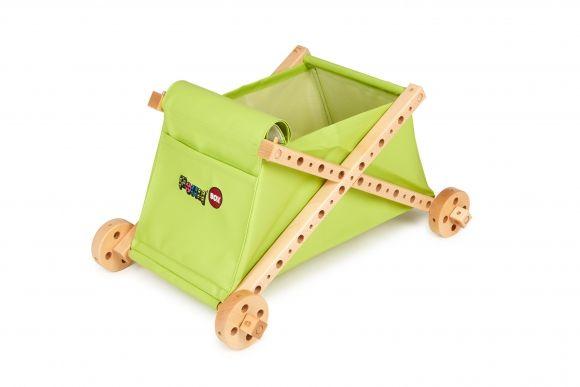 Dřevěné hračky Dřevěná stavebnice PONY BOX