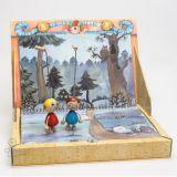Dřevěné hračky - Gerlichovo knižní loutkové divadlo