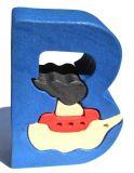 Fauna Abeceda písmenko B loďka