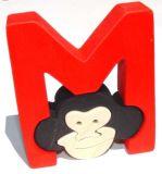 Fauna Abeceda písmenko M opička