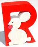 Fauna Abeceda písmenko R zajíc