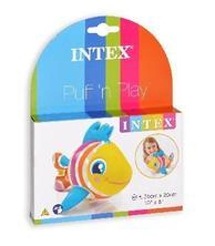 Dřevěné hračky Nafukovací zvířátka do vody Rybička Intex