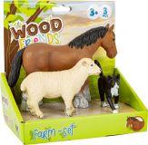 Dřevěné hračky Legler Set farmářských zvířat Small foot by Legler