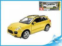 Bburago STAR Porsche Cayenne Turbo model 1:24 žlutá