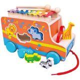 Bino Auto vkládačka s xylofónem