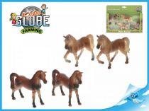 Figurka koně 1:32 4ks