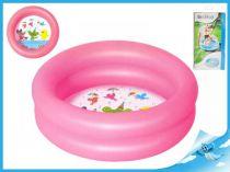 Nafukovací bazén 21l růžová