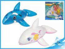 Nafukovací velryba s úchyty modrá