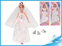 Panenka nevěsta kloubová 29cm zrzka