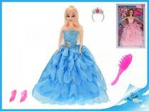 Princezna 29cm s doplňky  růžové šaty