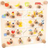 Small Foot Edukativní tabulka anglická abeceda a čísla