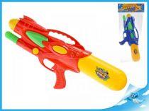 Vodní pistole s pumpou 48cm červená
