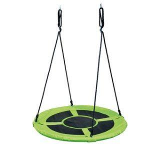 Dřevěné hračky Bino Dětské houpací hnízdo zelené