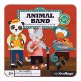 Petitcollage Magnetická knížka Zvířátka