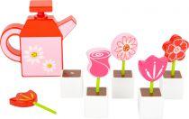 Small Foot Dřevěná konvička a květiny