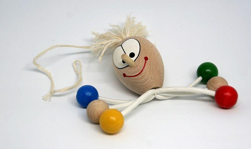 Dřevěné hračky CHOBOTICE - dřevěná hračka ručně malovaná Česká dřevěná hračka
