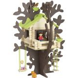 Jeujura Dřevěná stavebnice  dům na stromě