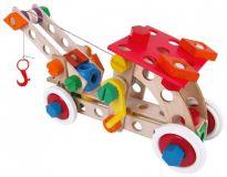 Dřevěné hračky Dřevěná stavebnice Baufix 10300 Starter 10