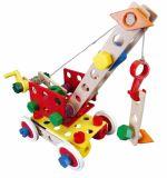 Dřevěné hračky Dřevěná stavebnice Baufix 11000 Supermix