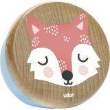 Vilac Dřevěná hrací skříňka liška