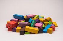 Dřevěné hračky Dřevěné kostičky mix 50 Gerlich