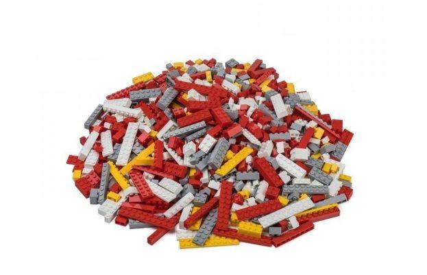 Dřevěné hračky L-W Toys Hasičský set 1000 ks lehký