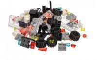 L-W Toys Kreativní set pro stavbu aut 100 ks