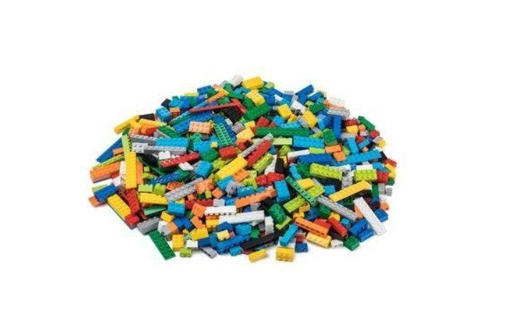 Dřevěné hračky L-W Toys Základní set 1000 ks lehký