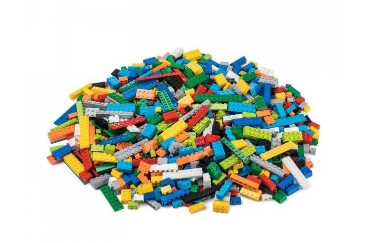 Dřevěné hračky L-W Toys Základní set 1000 ks těžký