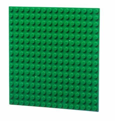 Dřevěné hračky L-W Toys Základová deska 16x16 tmavě zelená