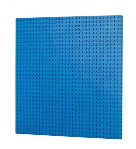 Dřevěné hračky L-W Toys Základová deska 32x32 modrá