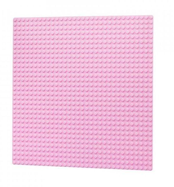 Dřevěné hračky L-W Toys Základová deska 32x32 růžová