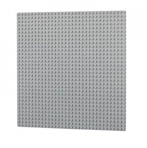 Dřevěné hračky L-W Toys Základová deska 32x32 světle šedá