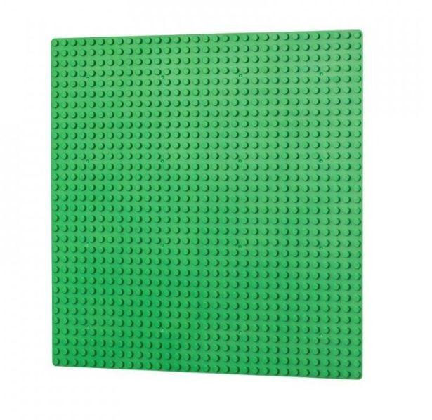 Dřevěné hračky L-W Toys Základová deska 32x32 světle zelená