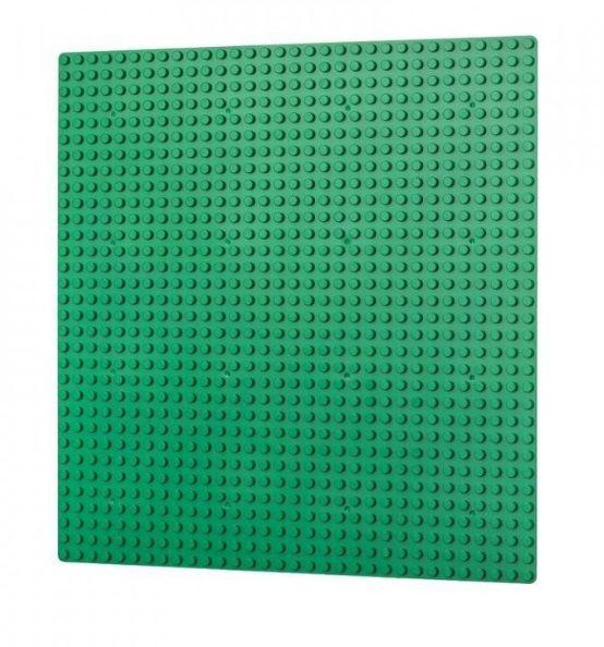 Dřevěné hračky L-W Toys Základová deska 32x32 tmavě zelená
