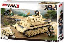 Sluban WWII M38-B0693 Velký německý tank 2v1
