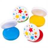 Bigjigs Toys Kastaněty hvězdičky 1 ks modrá