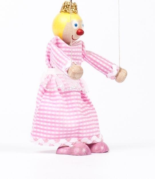 Dřevěné hračky Dřevěná loutka Princezna Anička Gerlich