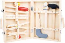 Dřevěné hračky Small Foot Kufřík dřevěné nářadí Maik Small foot by Legler
