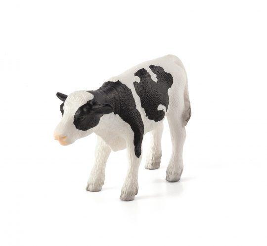 Dřevěné hračky Mojo Animal Planet Telátko holštýnské stojící