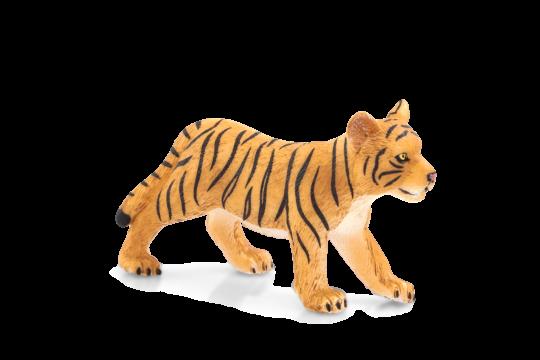 Dřevěné hračky Mojo Animal Planet Tygří mládě stojící