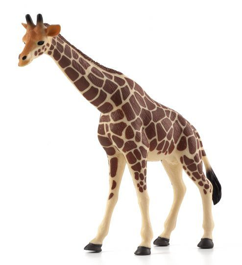 Dřevěné hračky Mojo Animal Planet Žirafa