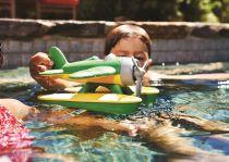 Dřevěné hračky Green Toys Hydroplán žlutý